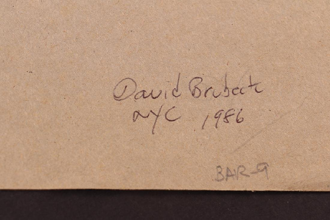 Michael Falick ink wash drawing of  Dave Brubeck. - 6