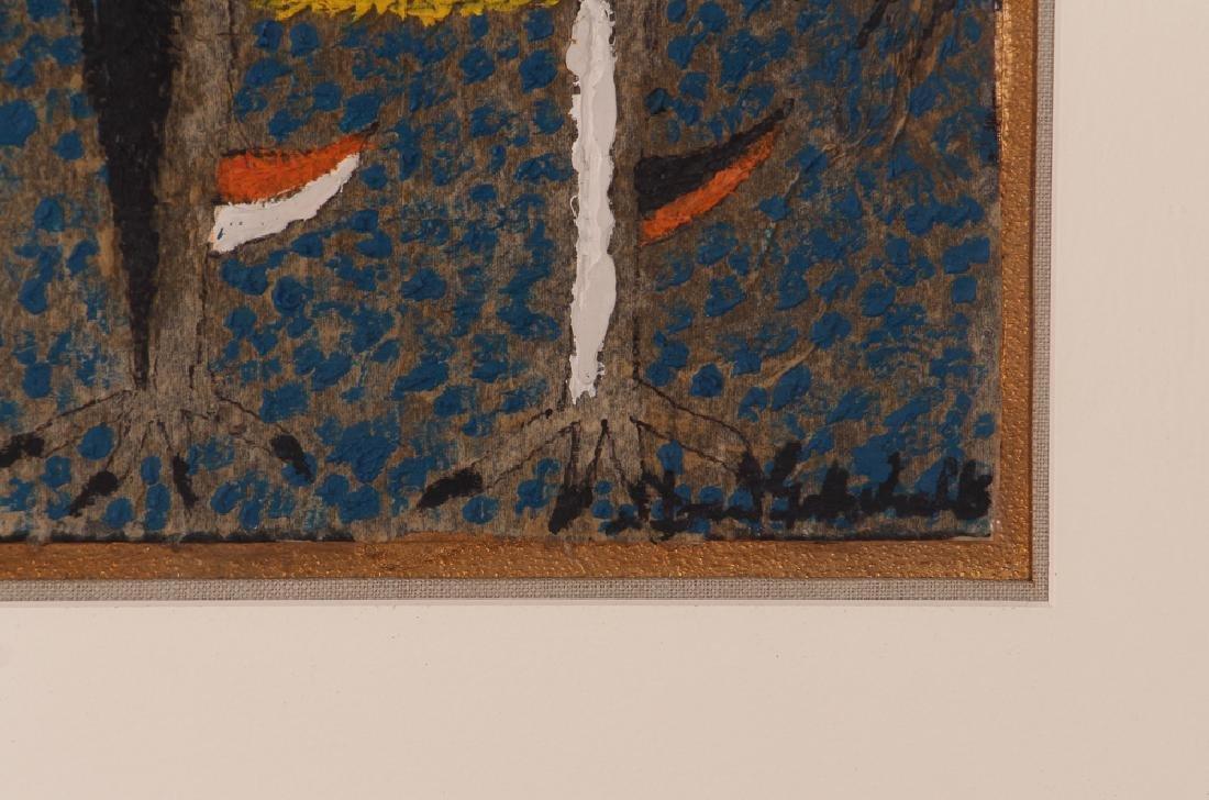 Dan Gottschalk Abstracted Rooster Painting - 3
