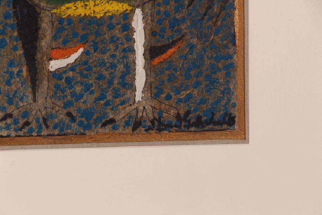Dan Gottschalk Abstracted Rooster Painting - 4