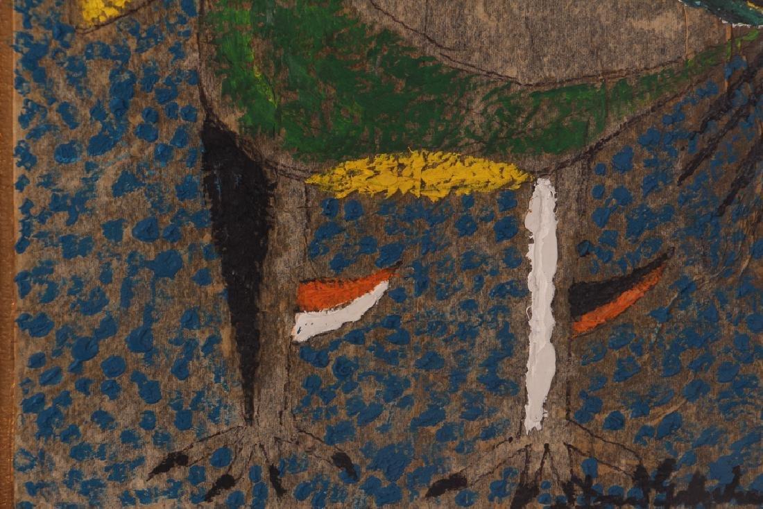 Dan Gottschalk Abstracted Rooster Painting - 6