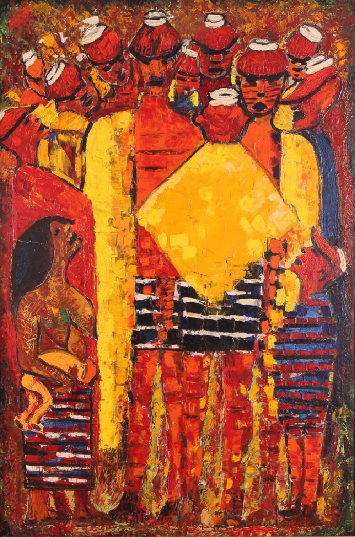 Jose Enrique Guerrero Painting