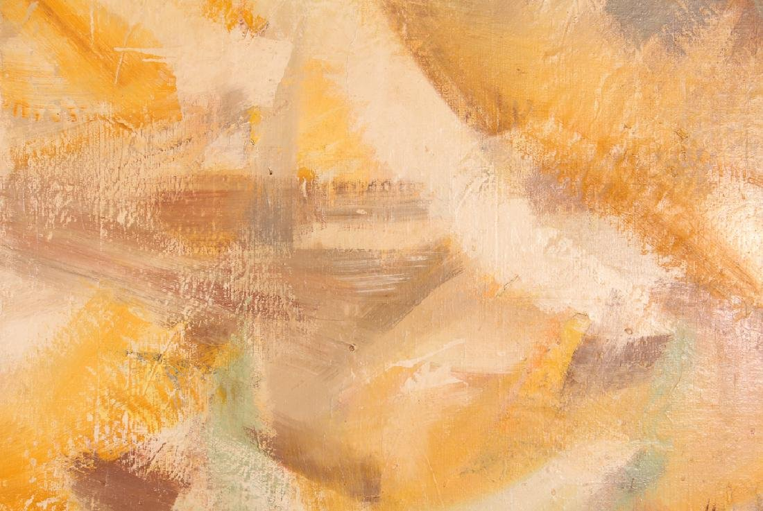 Jane  Haskell late 1950's painting  #1 Yellow - 2