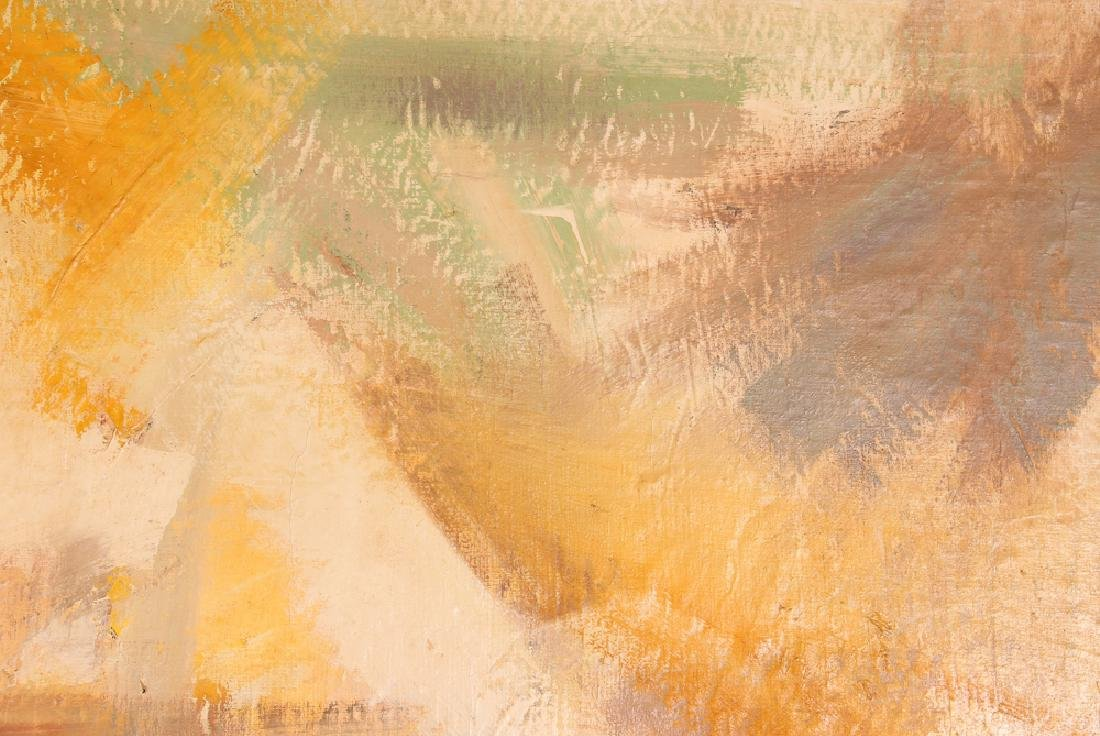 Jane  Haskell late 1950's painting  #1 Yellow - 3