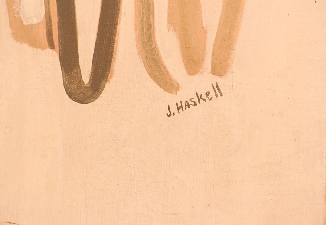 Jane Haskell 1960's painting Rush Hour - 5
