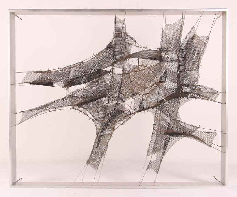 Manuel Rivera Hernandez Wire Mesh Sculpture
