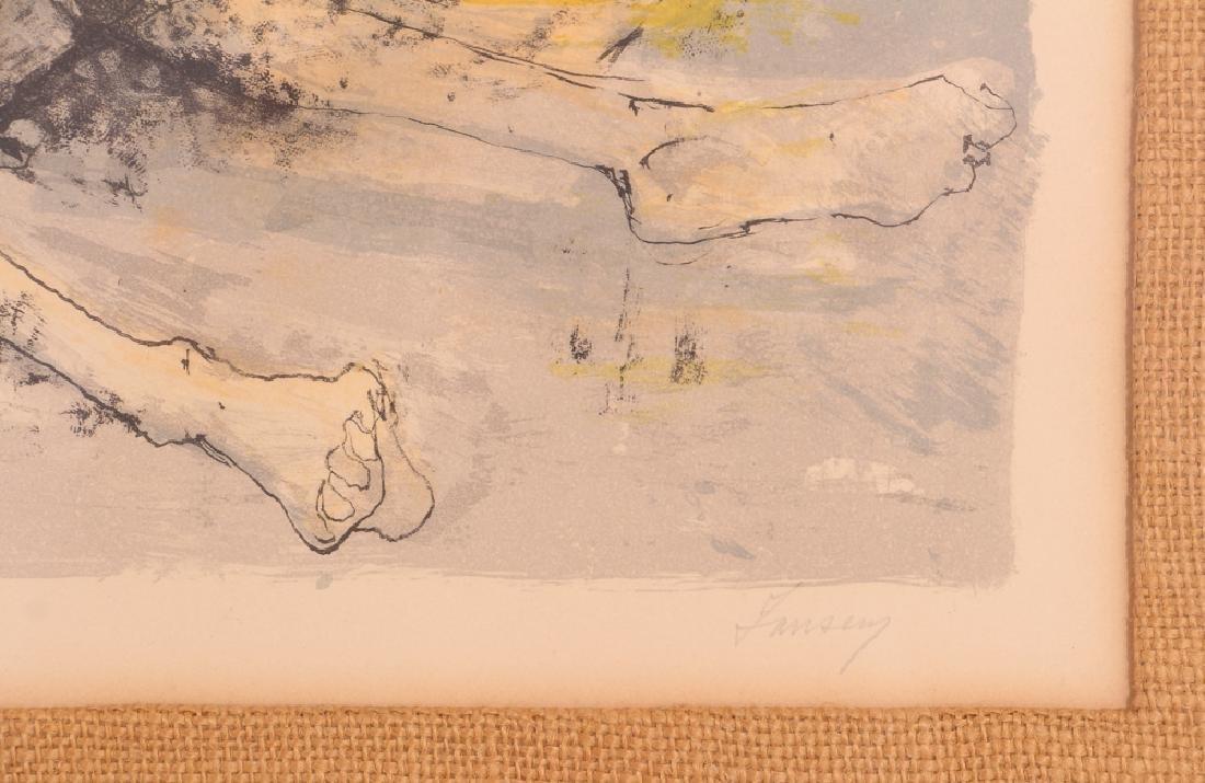 Two Jean Jansem Lithographs - 7
