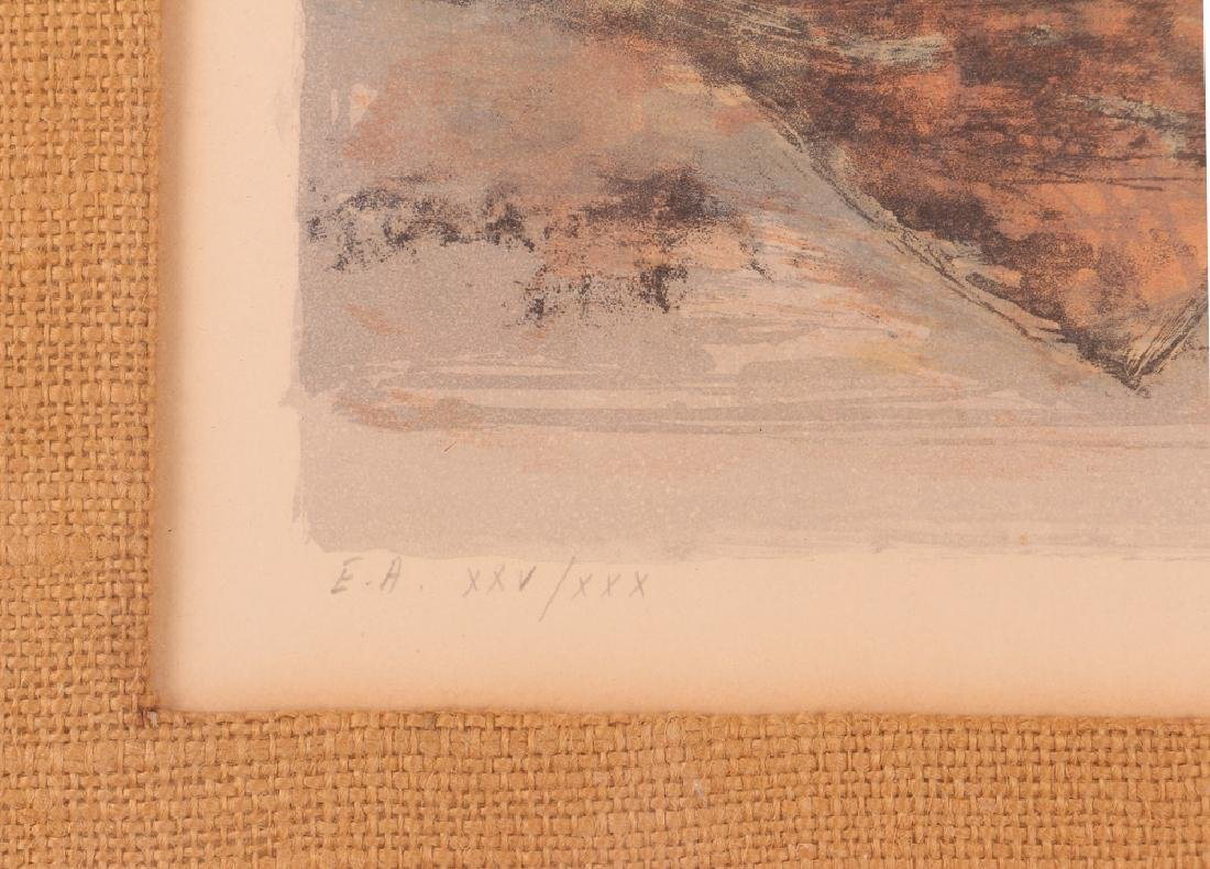 Two Jean Jansem Lithographs - 8