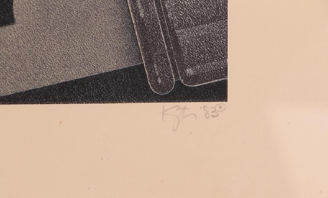 Hugh Kepets 1889 YDR II 1983 Mechanical Lithograph - 3