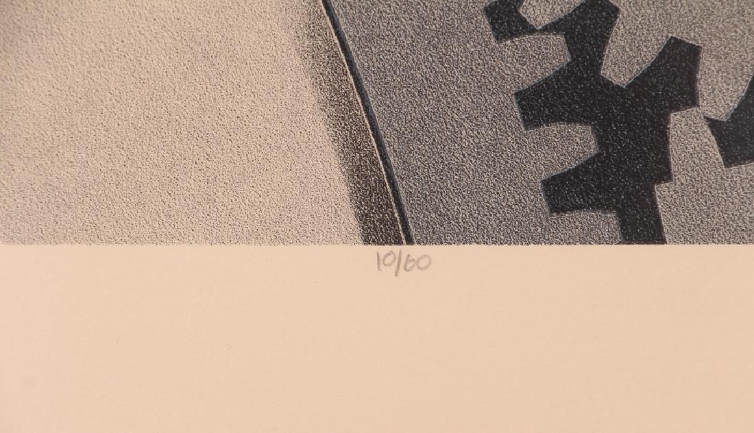 Hugh Kepets 1889 YDR II 1983 Mechanical Lithograph - 4