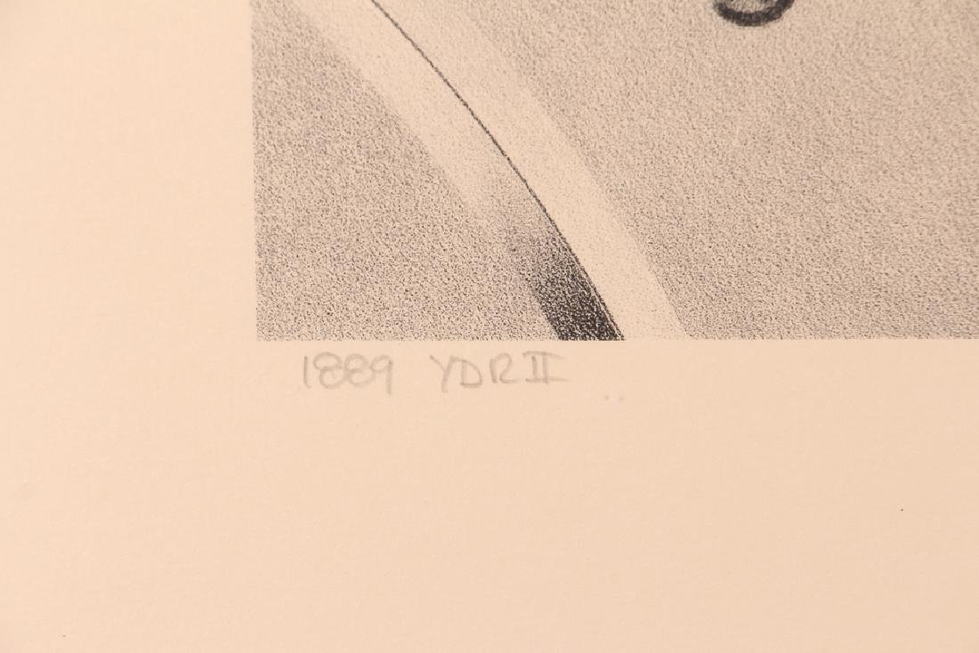 Hugh Kepets 1889 YDR II 1983 Mechanical Lithograph - 5