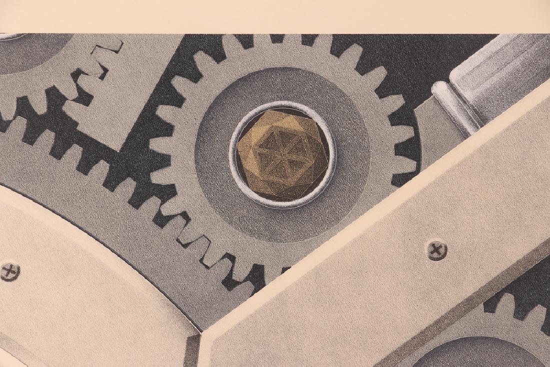 Hugh Kepets 1889 YDR II 1983 Mechanical Lithograph - 6