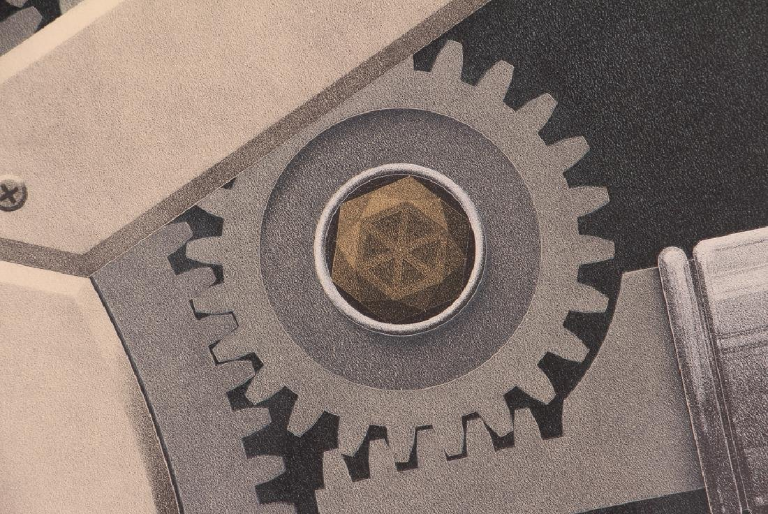 Hugh Kepets 1889 YDR II 1983 Mechanical Lithograph - 7