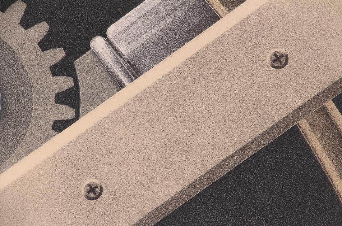 Hugh Kepets 1889 YDR II 1983 Mechanical Lithograph - 8