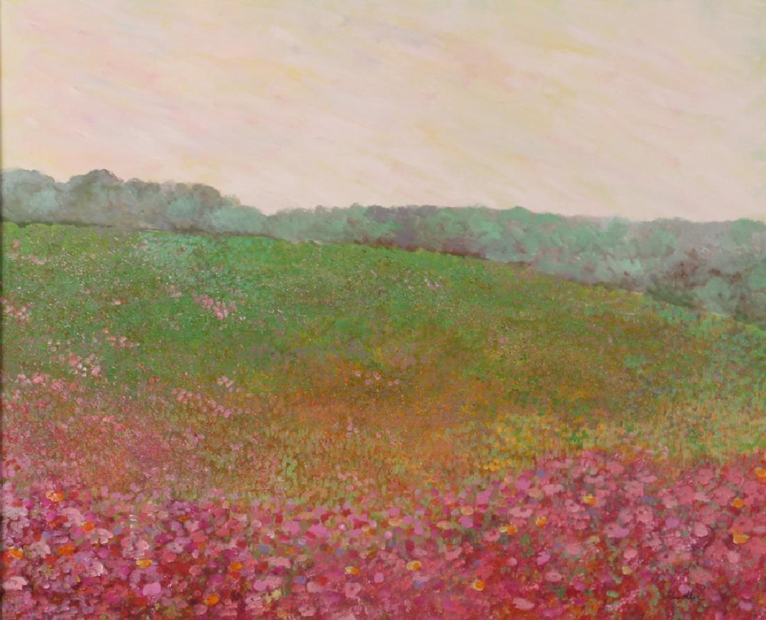 Phyllis Kindler Spring Violet 1979 Oil on Canvas