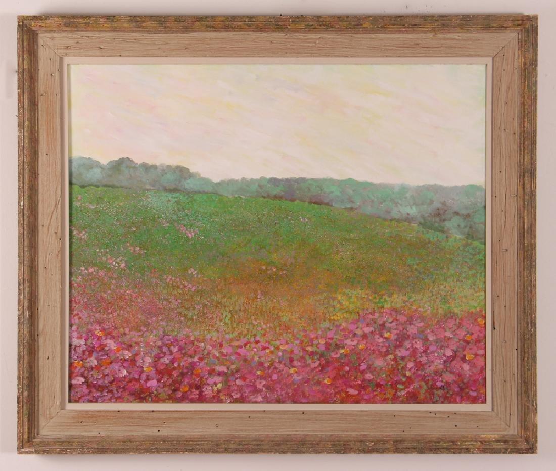 Phyllis Kindler Spring Violet 1979 Oil on Canvas - 2