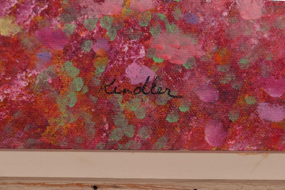 Phyllis Kindler Spring Violet 1979 Oil on Canvas - 3