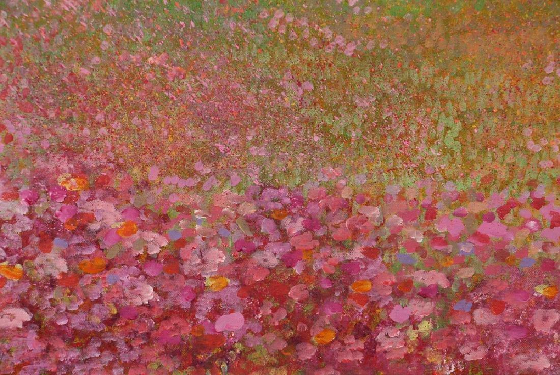 Phyllis Kindler Spring Violet 1979 Oil on Canvas - 5
