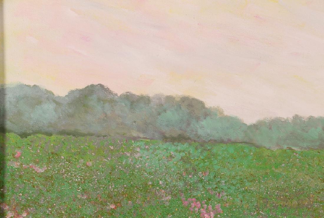Phyllis Kindler Spring Violet 1979 Oil on Canvas - 6