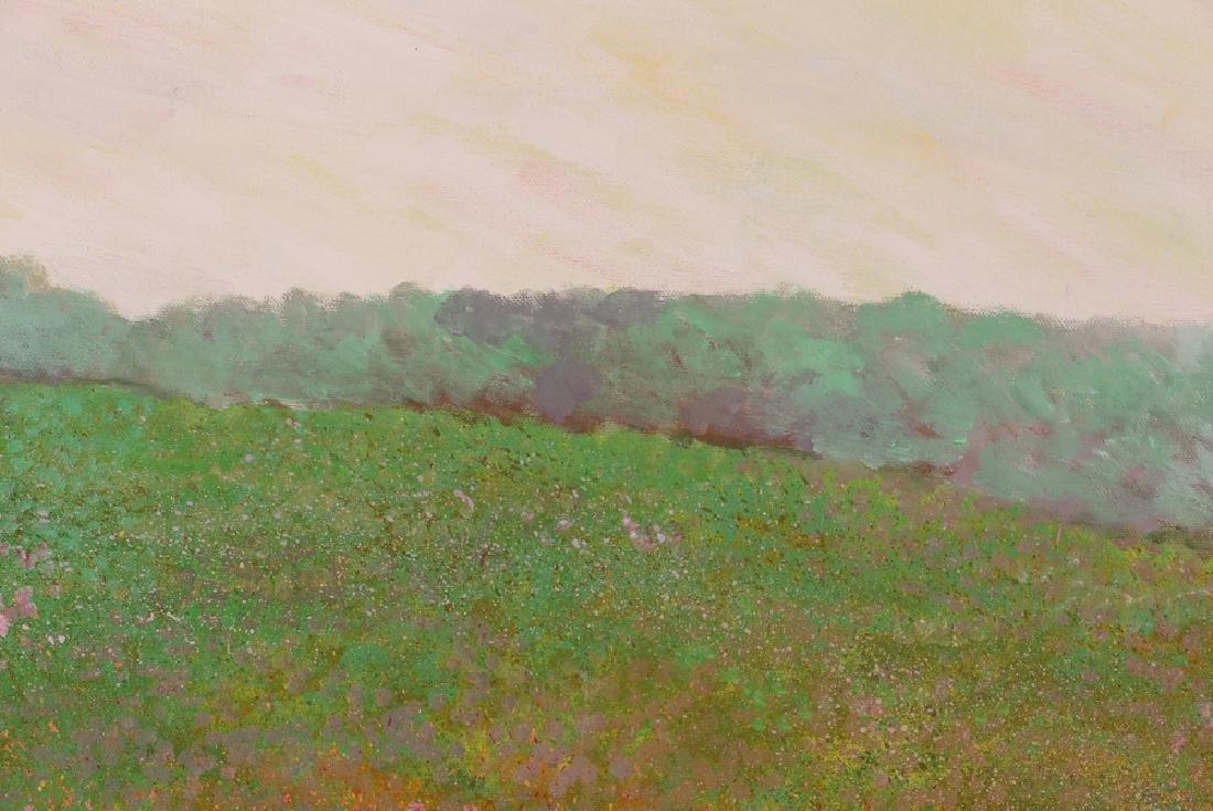 Phyllis Kindler Spring Violet 1979 Oil on Canvas - 7