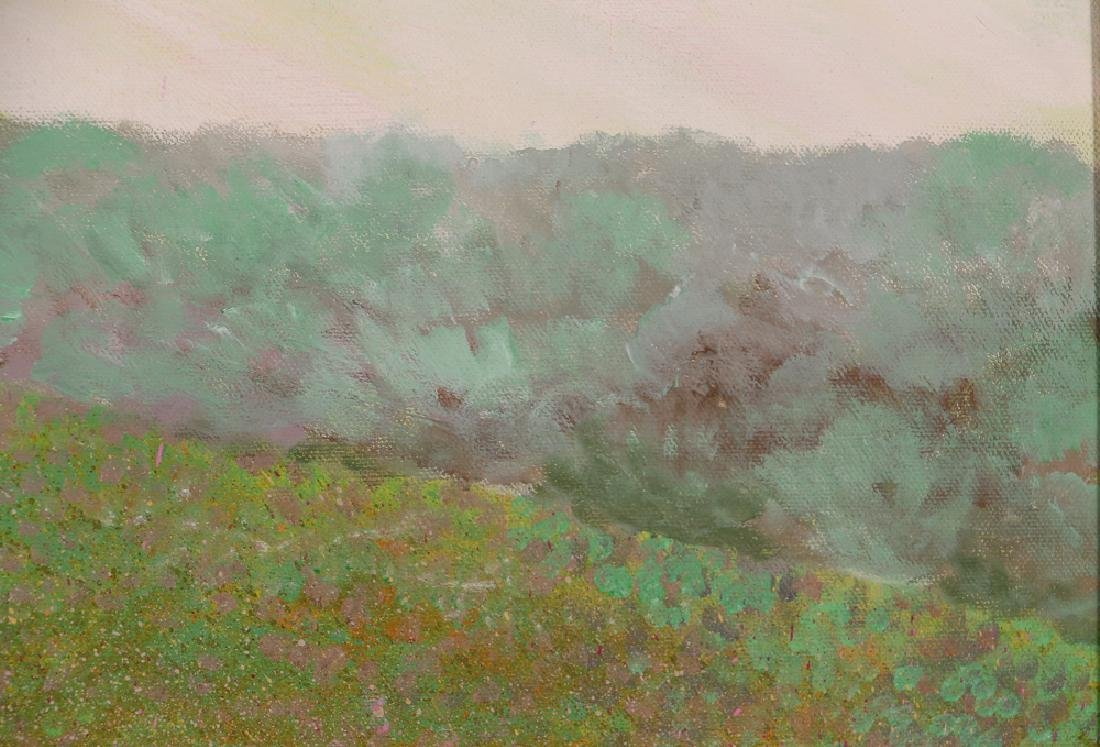 Phyllis Kindler Spring Violet 1979 Oil on Canvas - 8