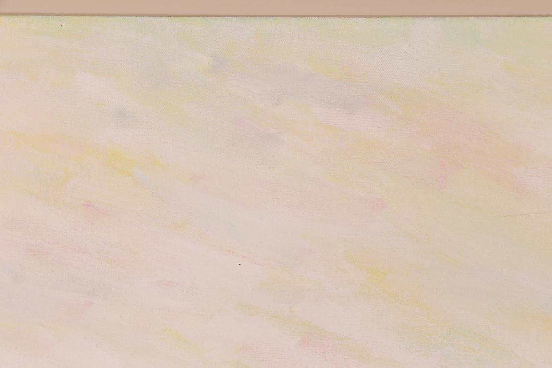 Phyllis Kindler Spring Violet 1979 Oil on Canvas - 9