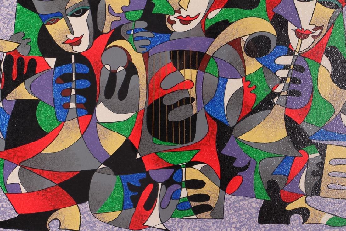 Antole Krasnyansky Musical Themed Serigraph - 6