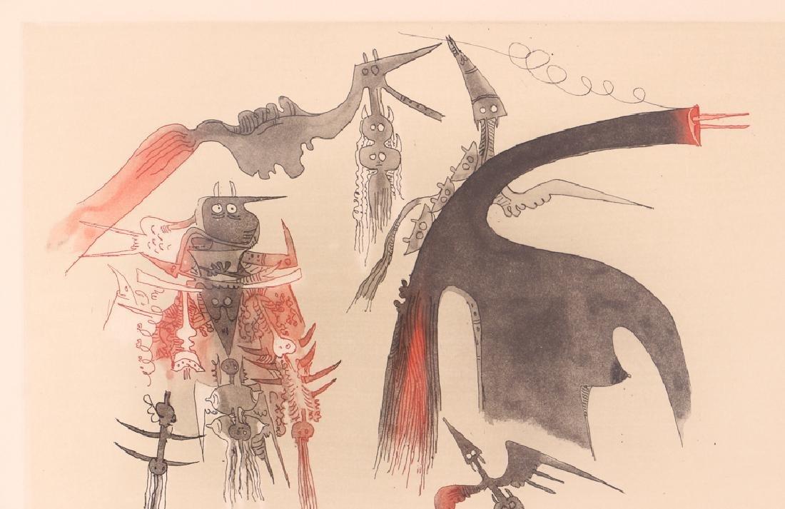 Wilfredo Lam Abstract Aquatint - 5