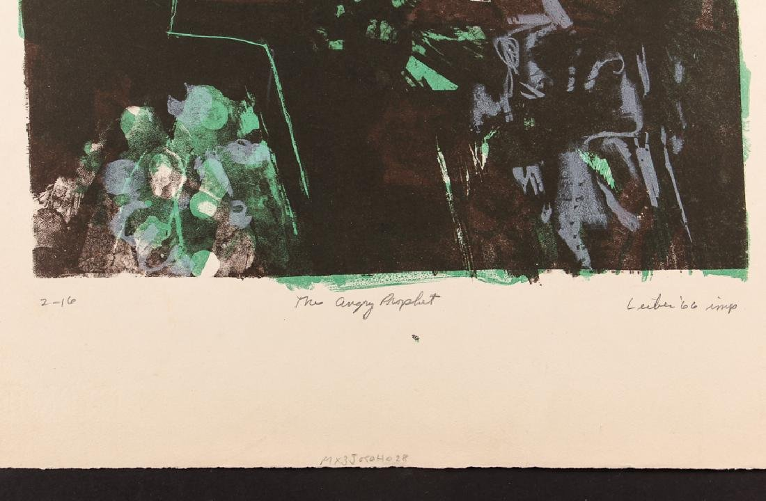 5 Gerson Leiber 1960's orig etchings and lithographs - 10