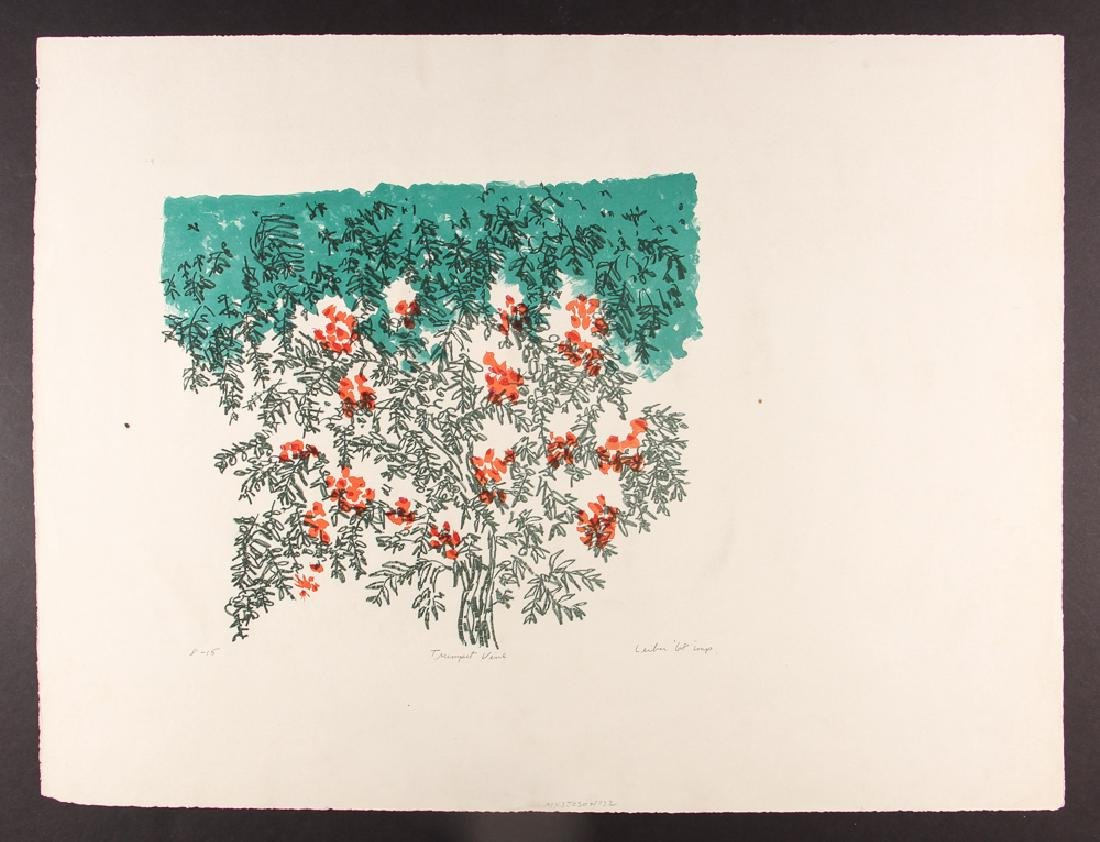 5 Gerson Leiber 1960's orig etchings and lithographs - 3