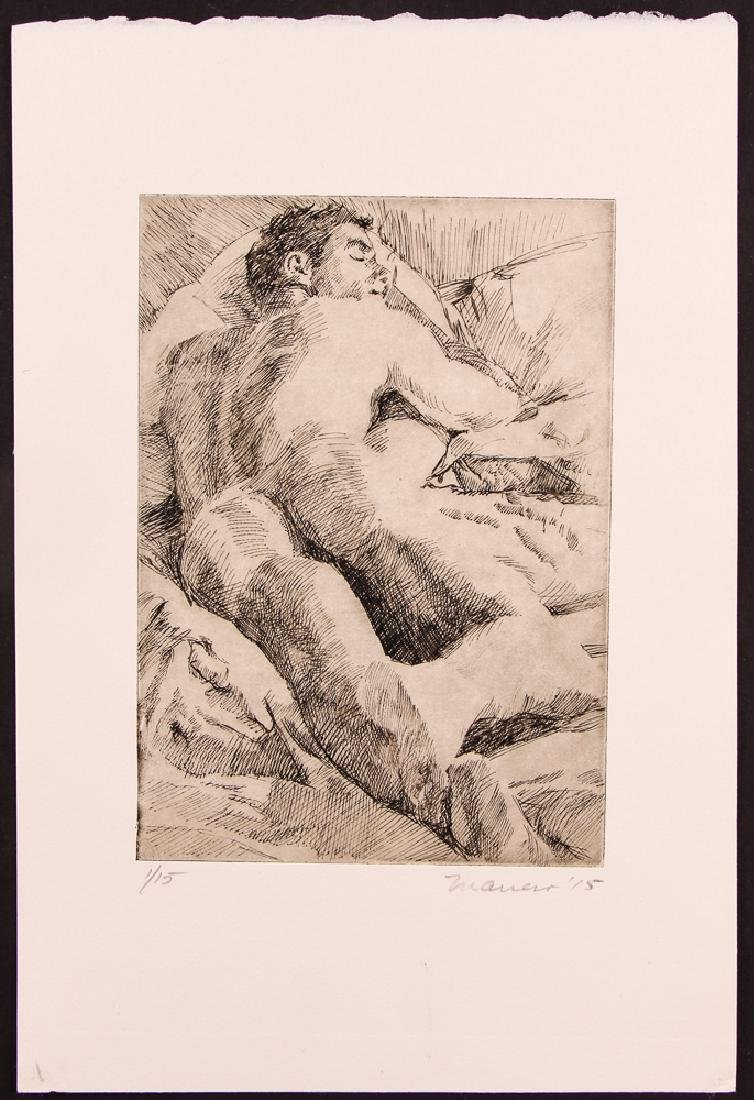 Onelio Marrero Male Nude with Morris Slotnick, New - 4