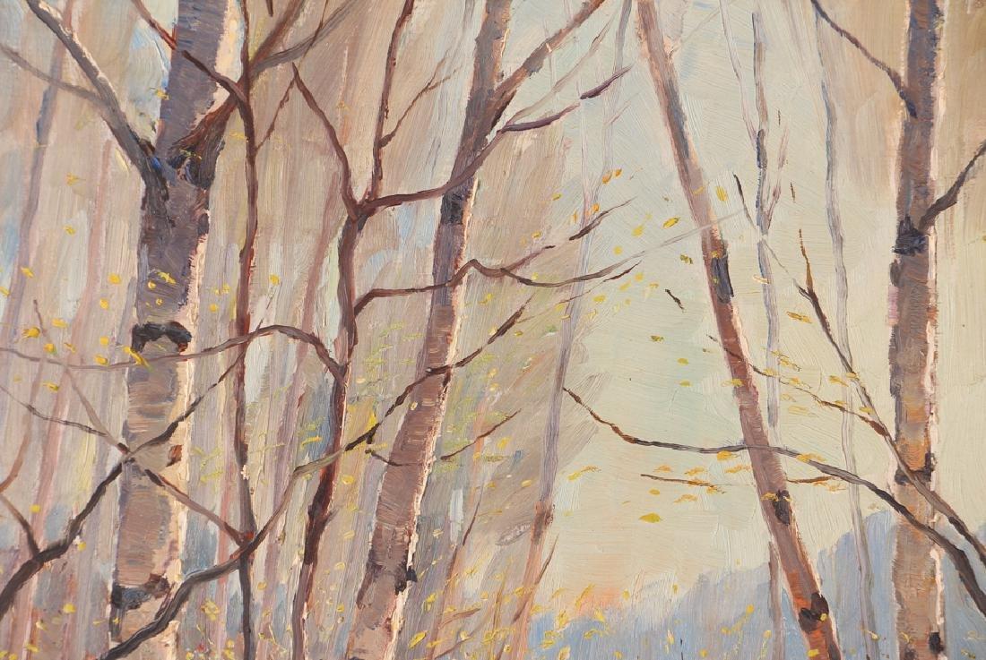 "Thomas Keith Roberts painting ""Little Girls Picking - 4"