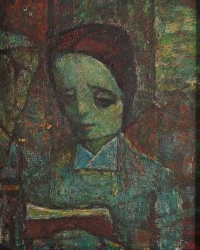 Samuel Rosenberg Oil Painting