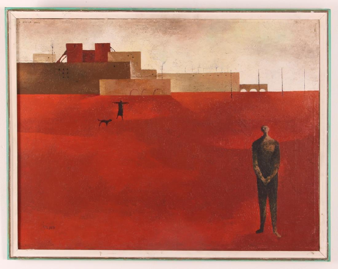 Sergio Sarri Abstract 1963 Cityscape
