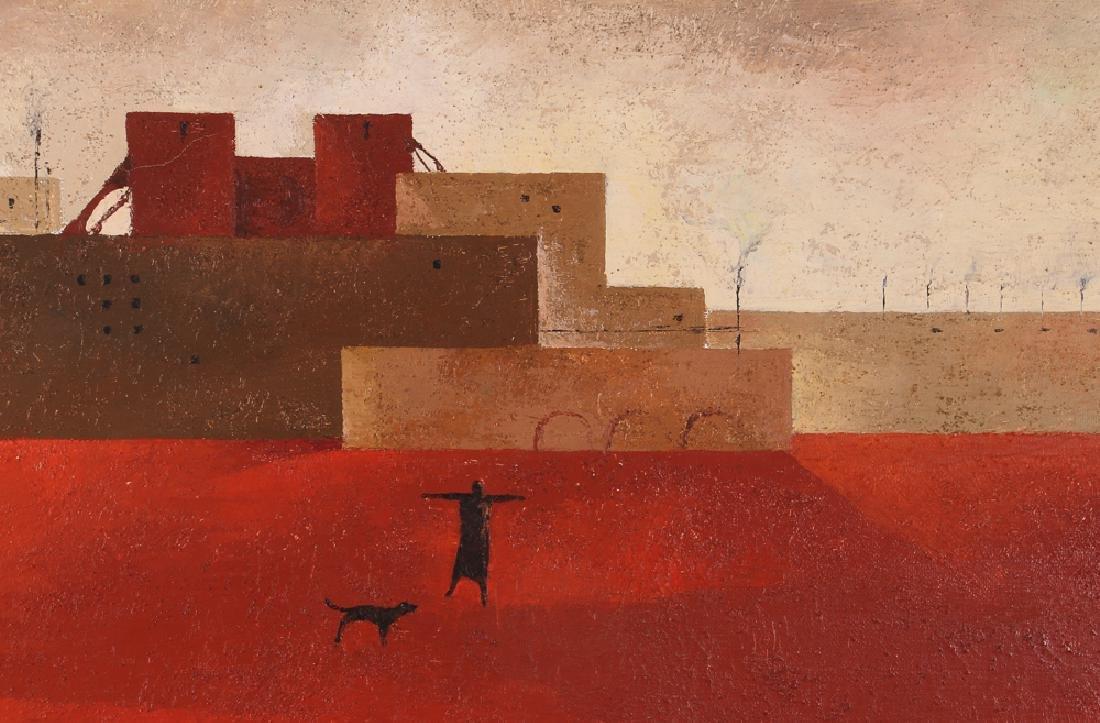 Sergio Sarri Abstract 1963 Cityscape - 5