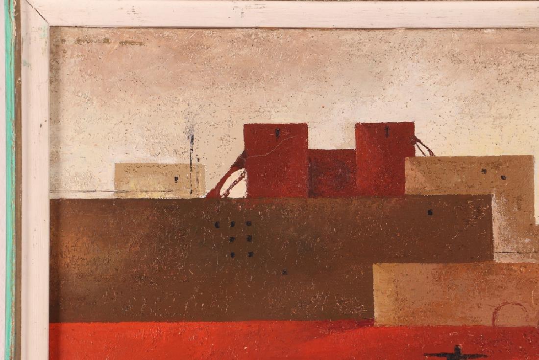 Sergio Sarri Abstract 1963 Cityscape - 6