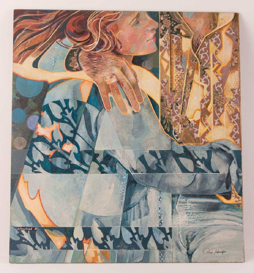 Robert Schmalzried painting Love at First Sight, 2006