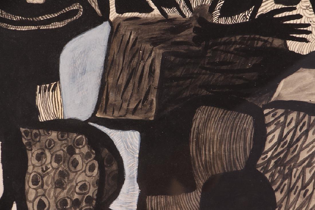 Philippe Sene Untitled Gouache Painting - 6