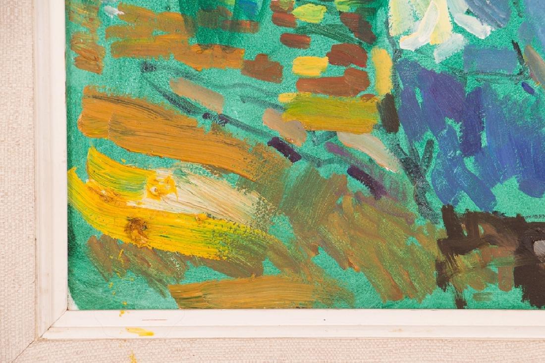"Arthur Shilling  1981 painting ""Native American Woman - 5"