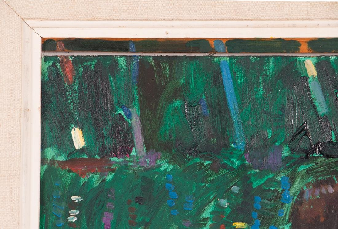 "Arthur Shilling  1981 painting ""Native American Woman - 6"