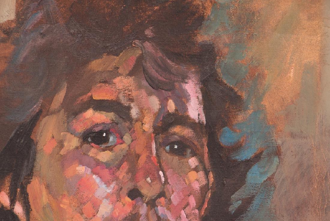 Arthur Shilling  1970 Self Portrait painting - 3
