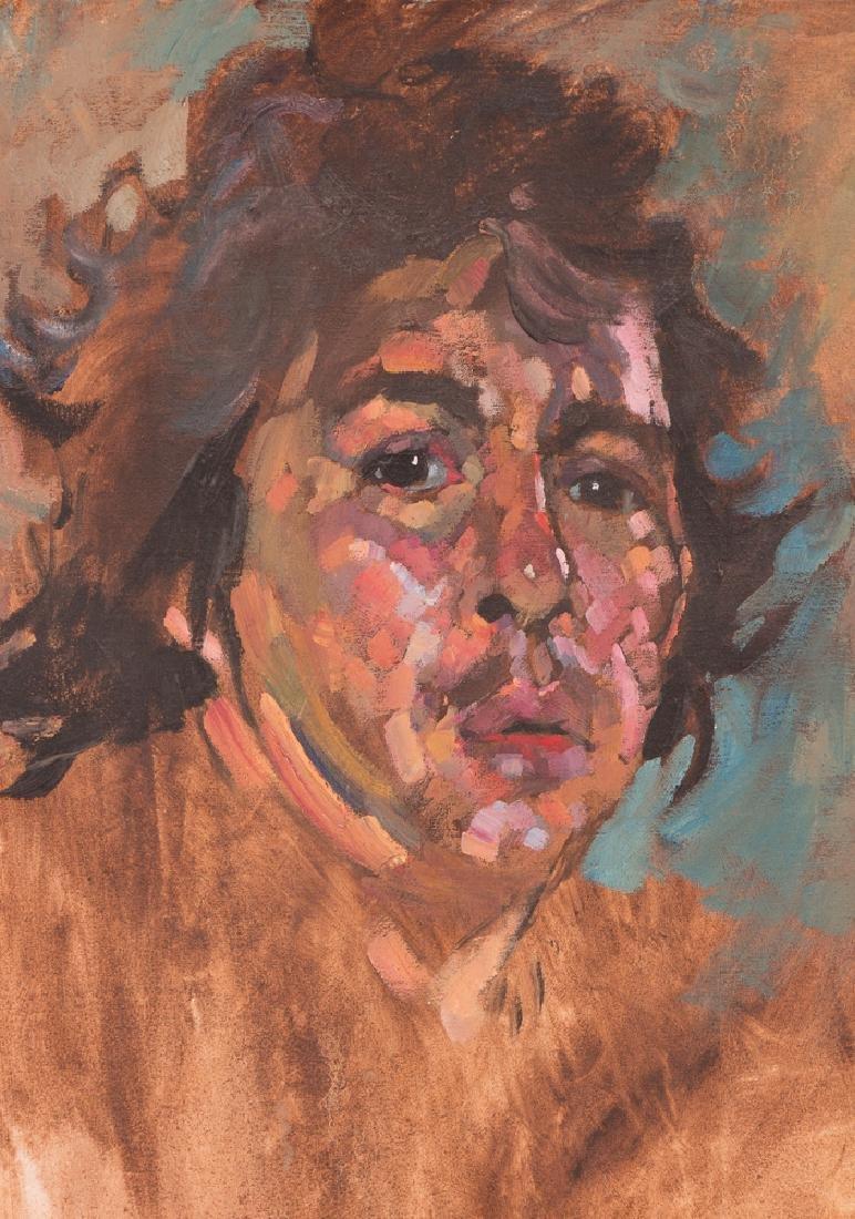 Arthur Shilling  1970 Self Portrait painting - 4