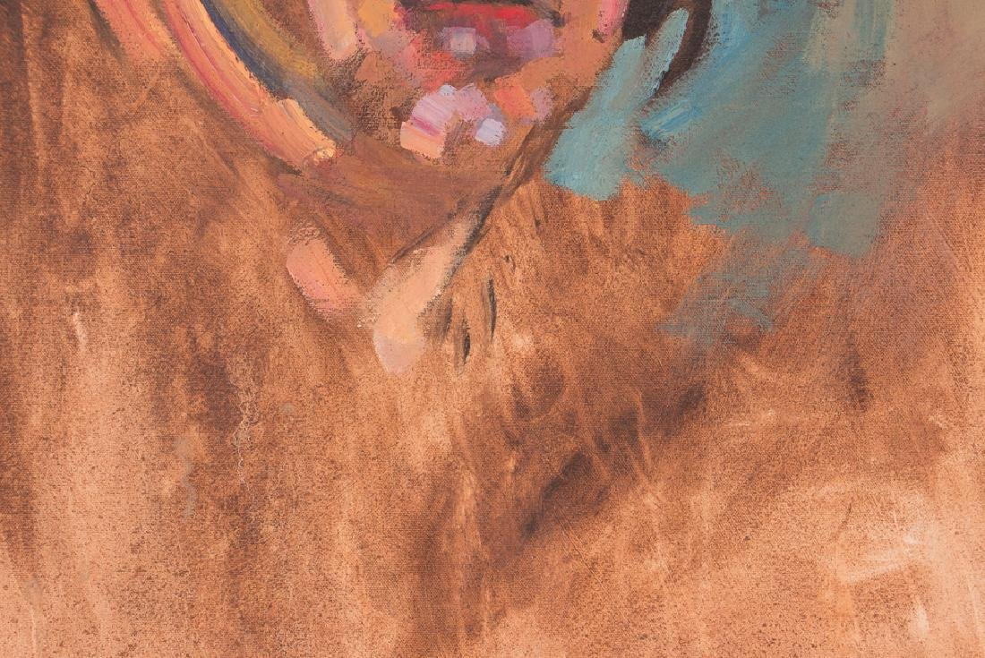 Arthur Shilling  1970 Self Portrait painting - 6