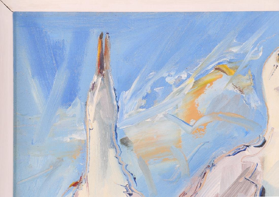 Richard Wagner Quarrelling Gulls Seaside Painting - 5