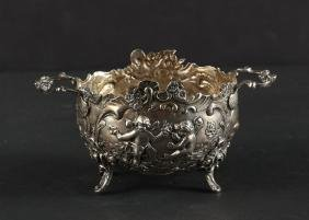 Elaborate Weinranck & Schmidt German Silver Bowl