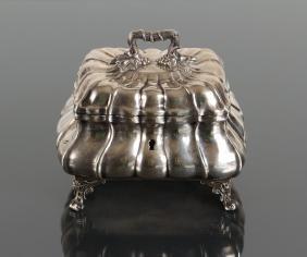 Austrian Silver Sugar Box