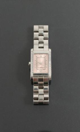 Ladies Baume & Mercier Stainless Steel Diamond