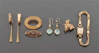 Assorted 14K Gold  Other Ladies Jewelry