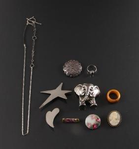 Assorted Antique & Contemporary Ladies Jewelry