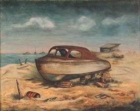 Gertrude Bryant ptg. San Padre Island Boat Repair