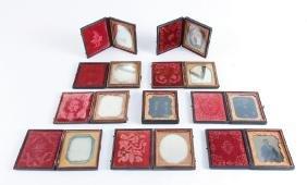 Ten Tintypes and Daguerreotypes